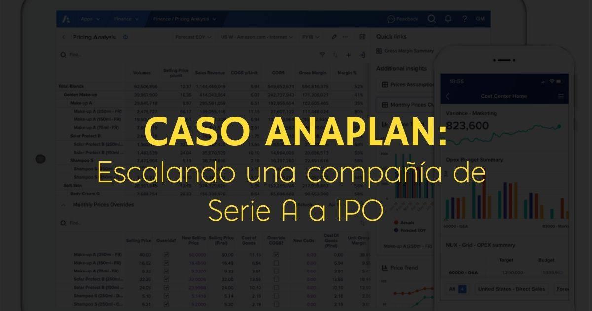 Anaplan Serie A