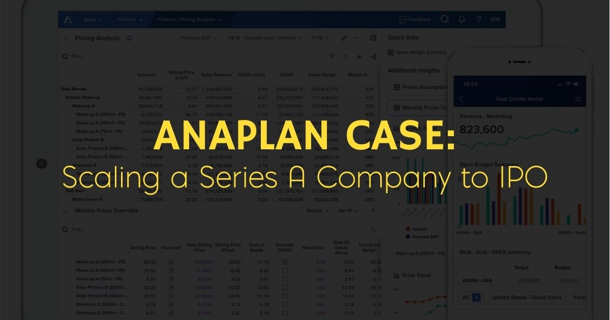 Anaplan Series A